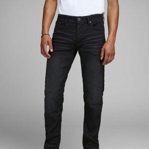 Jack & Jones Mike Comfort Fit Button Front Jeans